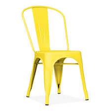 Tolix Armchair Tolix Style Yellow Powder Coated Chair Cult Furniture
