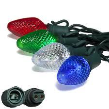 commercial led tree lights preled c7 led light strings