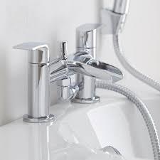 milano waterfall bath shower mixer tap