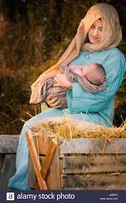 mary holding baby jesus stock photo royalty free image 6258624