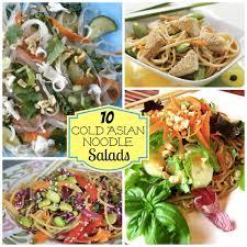 cold salads 10 delicious cold asian noodle salads babble