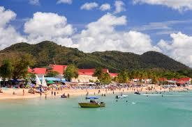 St Lucia Island Map St Lucia Beaches