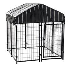 Outdoor Kennel Ideas by Waterproof Pet Canopy Patio Outdoor Dog Crate Bed Cat Playpen Cage