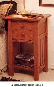 Mission Style Nightstand Plans Idea Wind December 2014