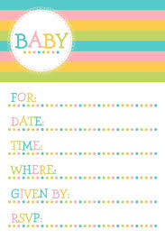 Invitations Cards Free Baby Shower Invitation Card Template Free Download Ebb Onlinecom