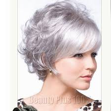 2016 very short hairstyles for older women synthetic curly hair