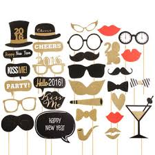 photo booth props diy 32pcs diy mask gold photo booth props mustache stick wedding