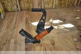 Hardwood Floor Gun Breakfast Room Pantry Hardwood Flooring Installed Plus A Couple
