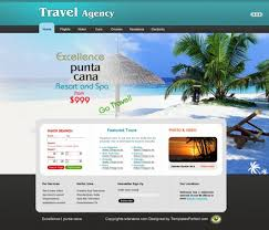 Travel Web images Travel agency website templates free download jpg
