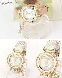 charm bracelet watches images Crazeemania young forever fashionista key charm bracelet watch jpg