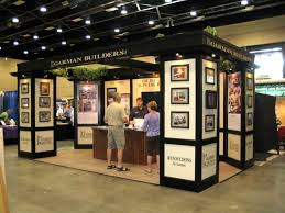 trade show exhibition booth from outdoor recreation and sporting