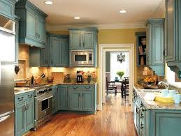 Kitchen With Red Appliances - what color to paint kitchen cabinets with red walls for small