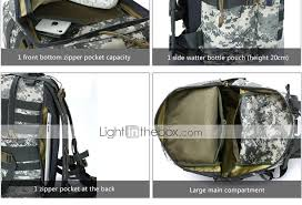 light in the box bags 30 backpack hiking backpacking pack cing hiking hunting