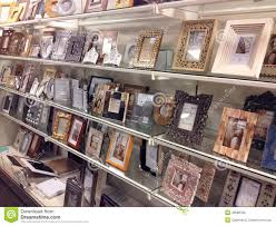 photo frames for sale in a store editorial image image 48588780