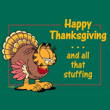 happy thanksgiving and all that stuff garfield thanksgiving happy