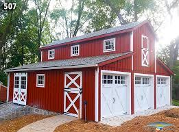 Barn Style Garages Custom Garage Custom Garage Plan Horizon Structures