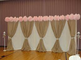 wedding backdrop tulle strong armor burlap and lace wedding
