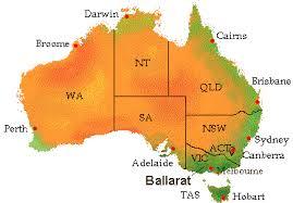 map of austrial map links gelenelg wannon region of s w australia