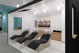 modern hair salon interior u2013 le coiffeur design build ideas