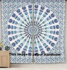 Grateful Dead Curtains Popular Mandala Curtains And Trippy Curtains Hippie Window Drapes By