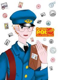 postman pat anime mode edited katlovelayton deviantart