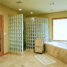 glass block bathroom designs glass block shower designs