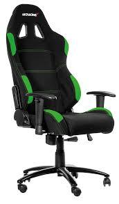 Gaming Chair Leather Ak K7012 Bg Akracing K7012 Series Gaming Chair Black Green At