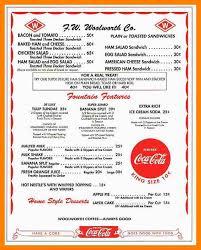 6 diner menu template producer resume