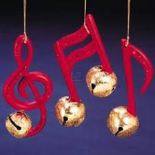 pipe cleaner bell and note ornament crafts