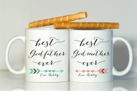 godparents gift godparents mugs godmother gift godfather