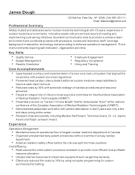 Experience Examples For Resumes by Professional Nuclear Medicine Technologist Templates To Showcase