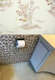 paint or wallpaper vintage wallpaper or paint for laura s 1957 bathroom retro