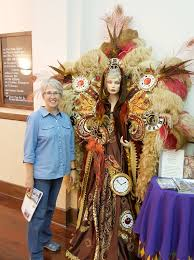 mardi gras king and costumes wandering his wonders welcome to louisiana
