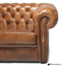 Brown Leather Chesterfield Sofa by Cook Chesterfield Sofa Rochembeau Sheepskin Leather Chesterfield