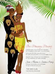 Traditional Wedding Invitation Cards 10 African Wedding Invitations Designed Perfectly Nigerian