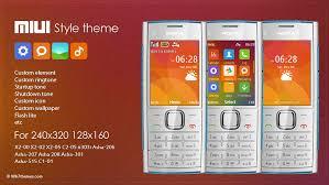 nokia 5130c mobile themes miui style theme s40 x2 00 x2 00 x2 02 x2 05 c2 05 6303i asha 206