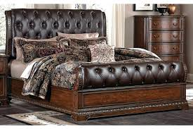 Tufted Sleigh Bed King Upholstered Sleigh Bed King King Size Upholstered Sleigh Bed