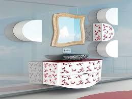 bathroom winsome unique mirror bathroom decor ideas with white