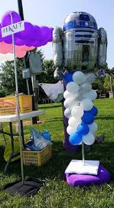 kids balloon delivery outdoor balloon decorations by celebrate the day for the franklin