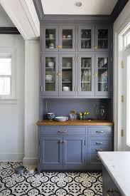 Glass Upper Cabinets Make A Small Kitchen Look Bigger 5 Design Ideas Living In A