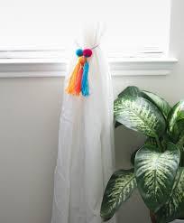 Tassel Curtain A Kailo Chic Life Craft It Copper Pom Pom Tassel Curtain Ties