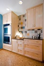 white granite with maple cabinets granite but i fell in