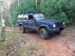 jeep cherokee off road tires jeep cherokee xj 2 5 td modified off road 4x4 not grand cherokee