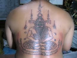 sak yant thai temple tattoos sak yant buddhist temple tattoos