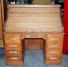 Old Roll Top Desk Antique Grand Rapids Desk Co Roll Top Desk