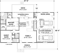 Ranch House Plans With 2 Master Suites by 28 Floor Plan Ranch Style House Open Plans With Walkout Bas Hahnow
