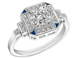 art deco engagement rings from mdc diamonds nyc