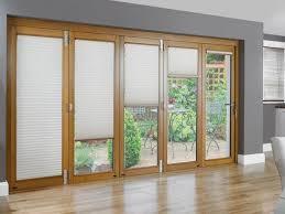 Patio Door Ideas Sliding Patio Doors Pella With Blinds Between The Glass