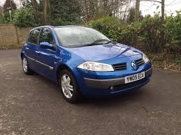 renault megane dynamique 2005 1 6 5 door mot september 2017 in