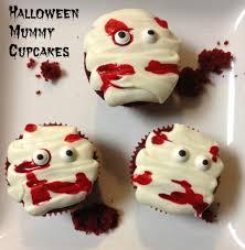 bloody mummy cupcakes